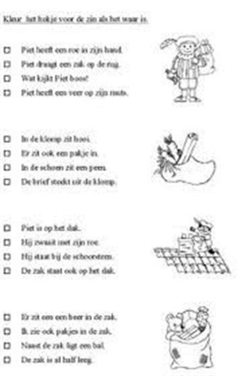 werkbladen sinterklaas groep 3 1000 images about school taal kleuters die kunnen lezen