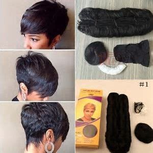 short stleys of bump weave best 25 27 piece hairstyles ideas on pinterest short