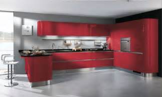 Supérieur Cuisine Toute Equipee Pas Cher #2: Cuisine-design-rouge-Tess-Scavolini.jpg