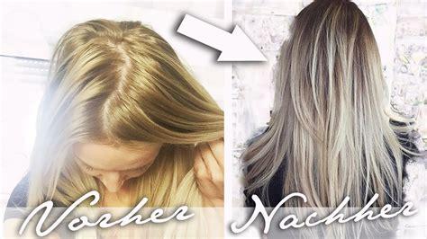Haare Entfärben by Haare Selber F 228 Rben Gelbstich Im Haar Entfernen Ombre