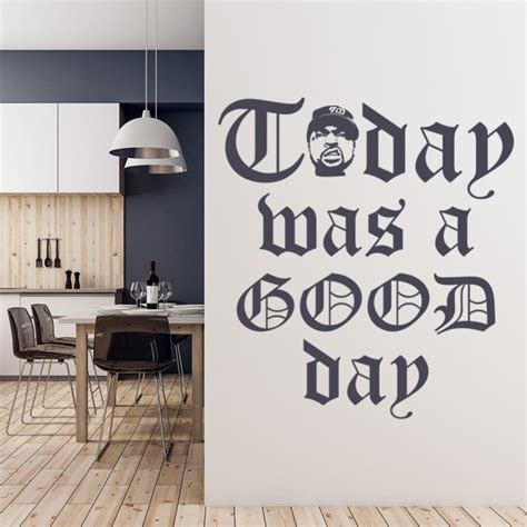 today   good day ice cube nwa wall sticker