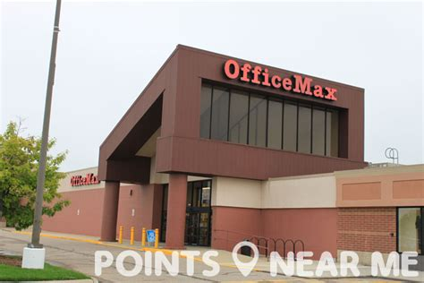 Office Max Around Me by Office Max Near Me Points Near Me