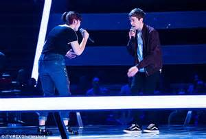 The Later Voice The The Chosen by Tom Jones Steals Kerley On The Voice 2017 Daily