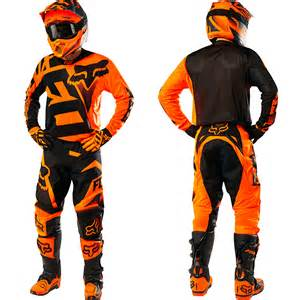 Ktm Race Wear Fox Racing New 2016 Mx 360 Shiv Orange Black Ktm Motocross