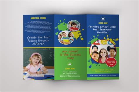 daycare brochure template 20 daycare brochure templates psd vector eps jpg freecreatives
