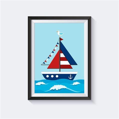 kinderzimmer bilder maritim drucke plakate kinderbild schiff bild kinderzimmer