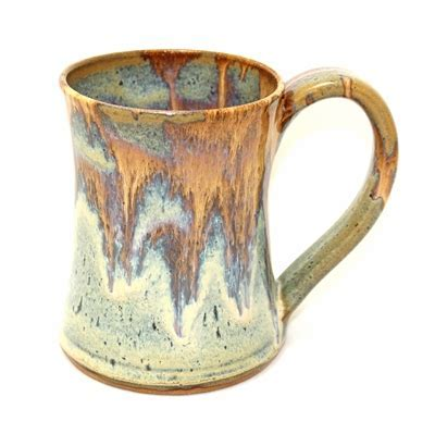 Coffee Mug   Fire by Keith Martindale Pottery