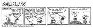 Math extensions peanuts cartoons