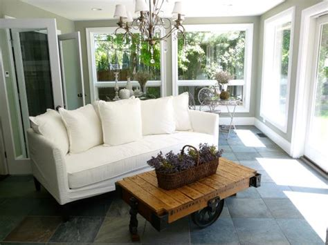 sunroom decorating ideas pictures of your sofa cottage style sunrooms hgtv