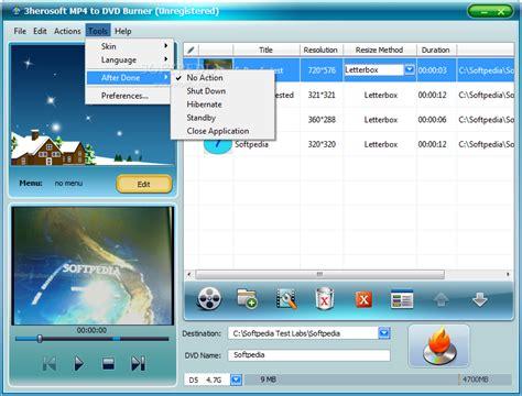 best mp burners 3herosoft mp4 to dvd burner download
