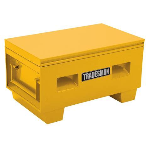 Home Depot Small Box Tradesman Heavy Duty Small 36 Inch Site Box Steel