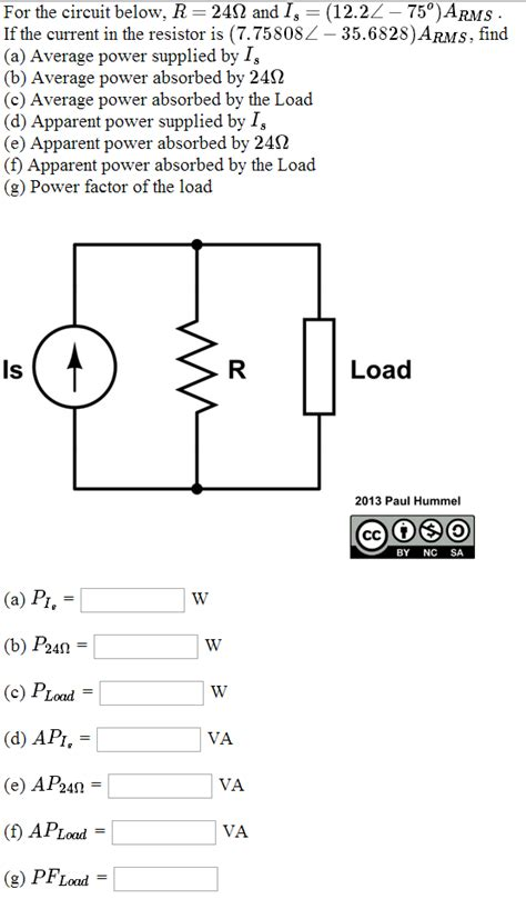 resistor circuit questions for the circuit below if the current in the resis chegg