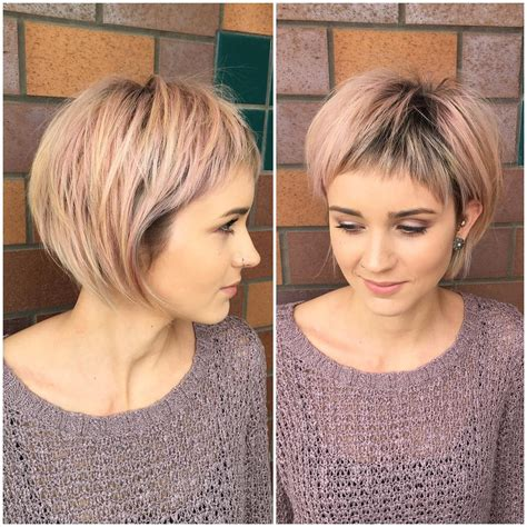 2017 short haircuts for fine hair hairstyles ideas