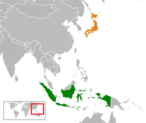 Indonesia In Japanese file indonesia japan locator svg wikimedia commons