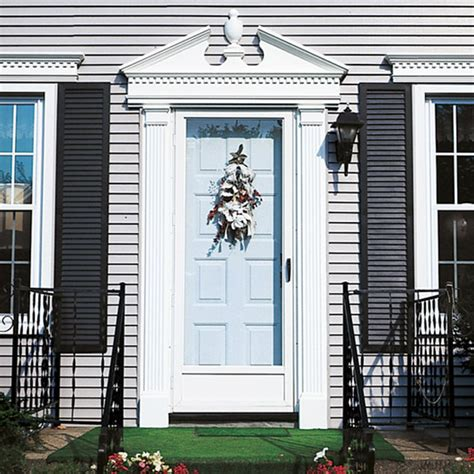 Front Door Pediments Home Improvement Inspiration The Modern Coastal Home