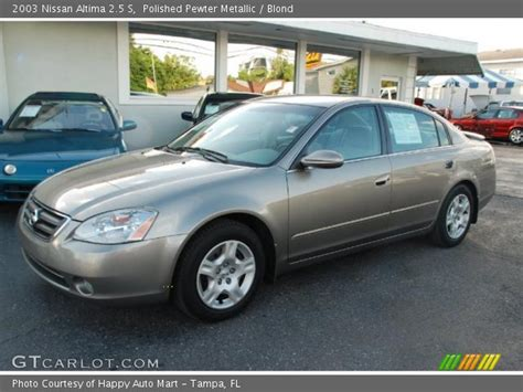 2003 nissan altima interior polished pewter metallic 2003 nissan altima 2 5 s