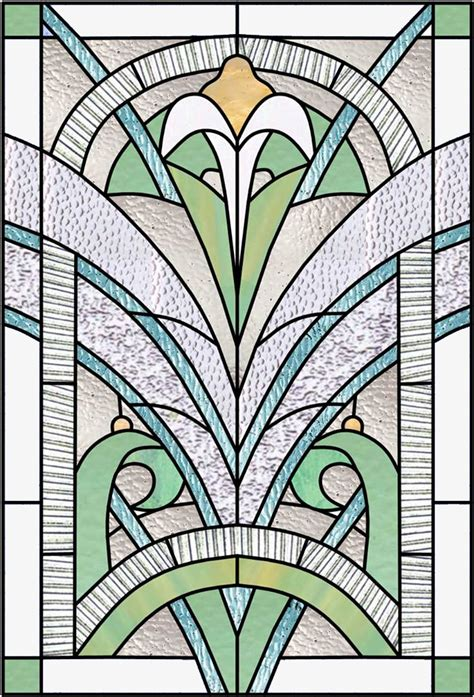 bleiverglasung jugendstil deco nouveau stained glass windows
