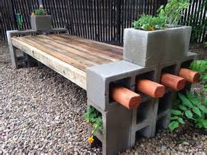 Antique Park Benches For Sale 5 Ways To Use Cinder Blocks In The Garden The Garden Glove