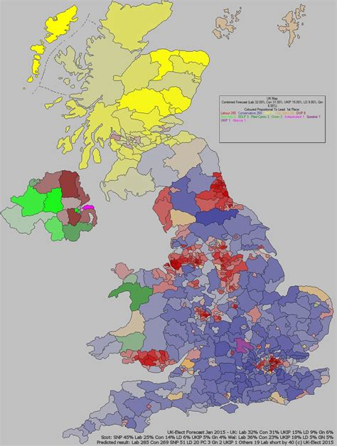 2015 uk election map uk general election 2015 ge2015 forecast from uk elect