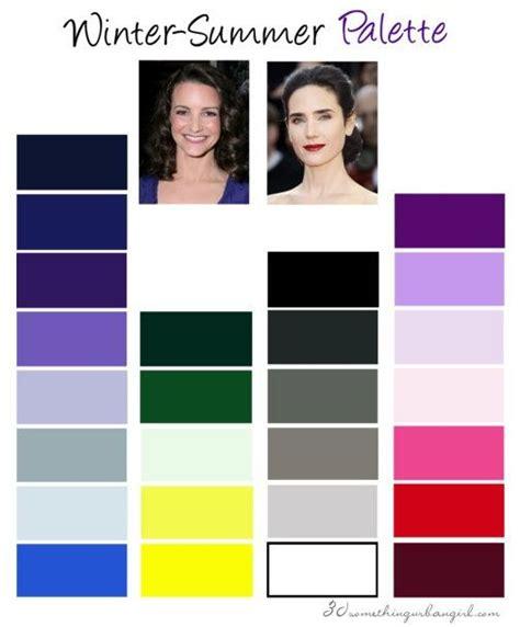 cool winter color palette 213 best images about carol tuttle face profiling on