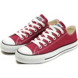 converse basse enfant converse shoes burgundy chuck all classic