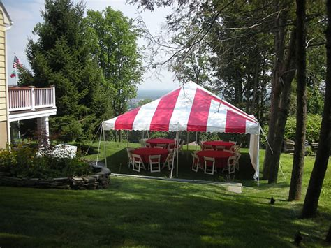 rent a backyard for a party tent rentals in mountainside nj