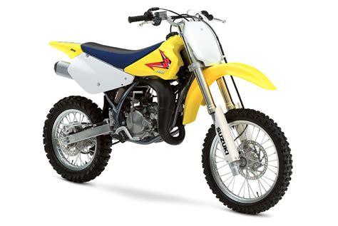 Suzuki Discontinued 2012 Suzuki Rm85 Reviews Comparisons Specs Motocross