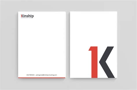 business consulting letterhead corporate identity for consulting company nashville