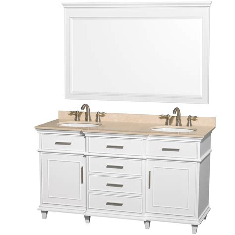 Wyndham Bathroom Vanity by Wyndham Collection Berkeley 60 Quot Traditional Sink