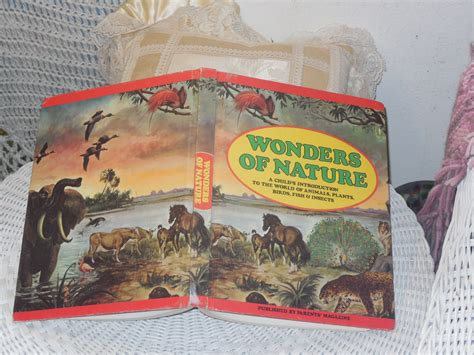 world wonders etsy wonders of nature 1974 a child s introduction to the