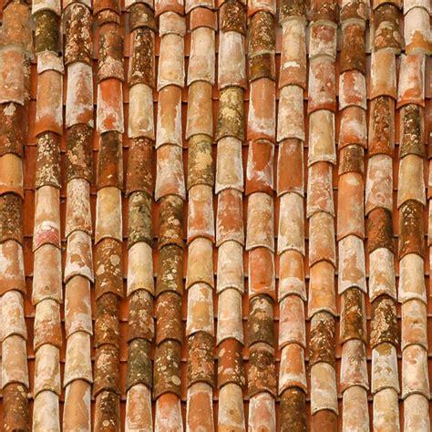 rooftilesceramicold  background texture
