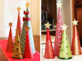 How To Make Christmas Decorations At Home Easy by How To Make Wrapping Paper Christmas Tree Decorations