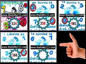 Thailand lottery hot tip paper 16th feburary 2013 thailotto123
