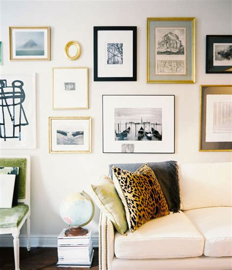 gallery wall how to six tips for hanging the perfect gallery wall apartment34