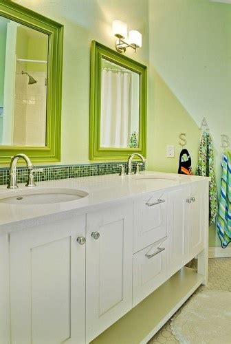 colorful bathroom mirrors 32 best images about kids bathroom on pinterest