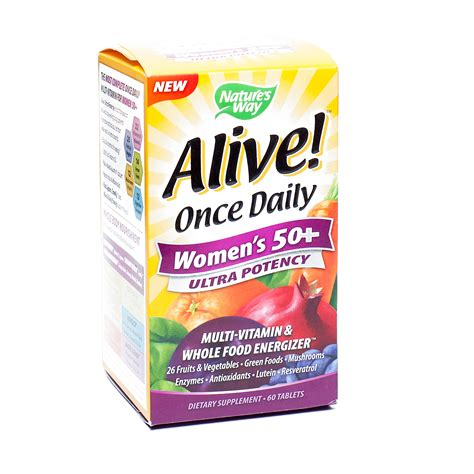 alive once daily s ultra potency side effects s 50 alive daily ultra potency multivitamin
