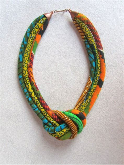 material to make jewelry fabric necklace kitenge designs i
