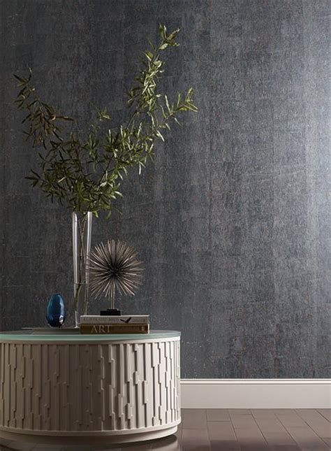 york wallcoverings home design cork wallpaper in silver design by candice olson for york
