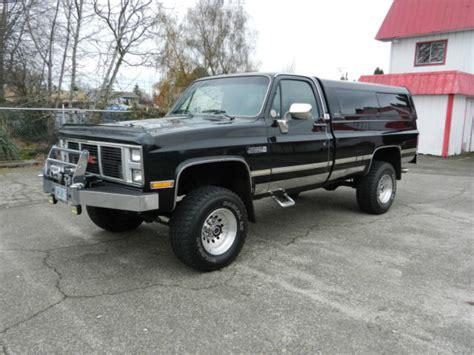 1987 gmc classic 2500 4x4 original truck