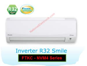 Ac Daikin 1pk High Inverter Freon R32 Tipe Ftkv25nvm4 macam macam tipe ac daikin dan perbedaannya