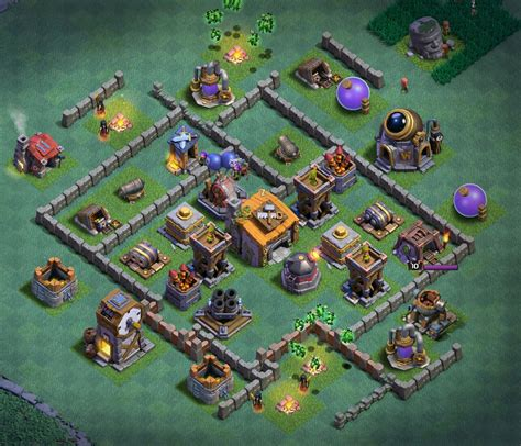 clash of clans builder best builder hall 6 base designs anti 1 star 4000 trophies