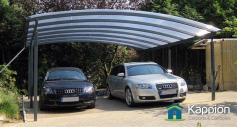 Auto Canopy 2 Car Carport For Covering Your Cars Kappion Carports