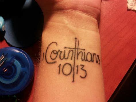 1 corinthians 13 tattoo 1 corinthians 10 13 by werewolfattack27 on deviantart