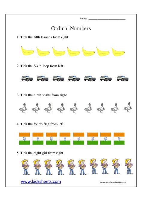 printable ordinal numbers worksheets for preschoolers kidz worksheets kindergarten ordinal numbers worksheet6