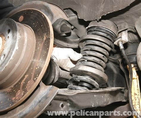 how to change rear coil spring on a 2006 hyundai azera mercedes benz slk 230 rear shock and spring replacement 1998 2004 pelican parts diy