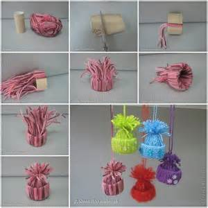 Crafts For Decorating Your Home Creative Ideas Diy Cute Yarn Winter Hat Ornaments
