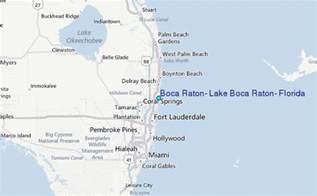 where is boca raton on the florida map boca raton lake boca raton florida tide station location