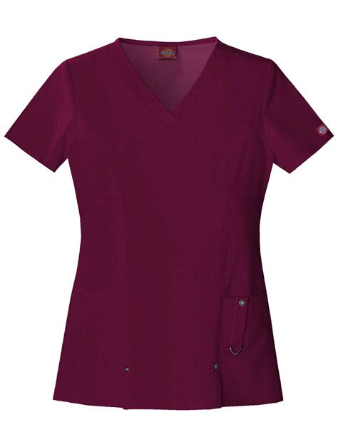 scrub tops dickies v neck top scrub top ebay