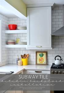 subway tiles backsplash kitchen subway tile kitchen backsplash installation burger