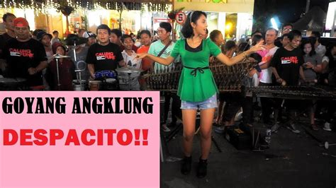 despacito angklung despacito cover by angklung malioboro jogjakarta
